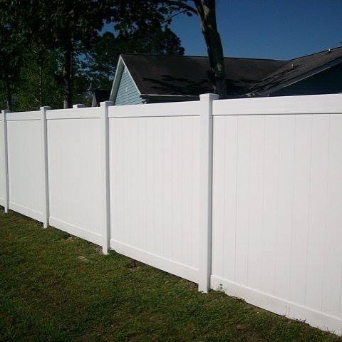 conway fence South Carolina fence company vinyl privacy fence